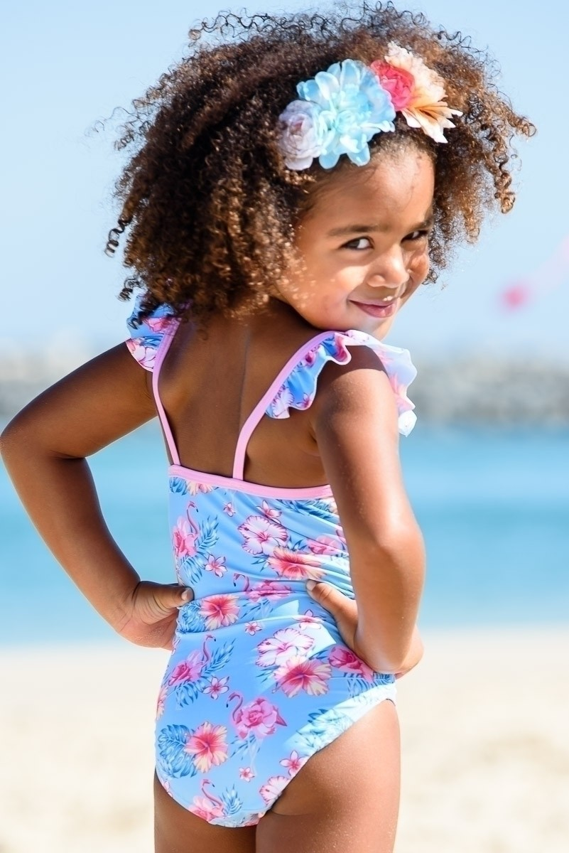 70d2225cdf Baby Girl's Swimsuit with Frills
