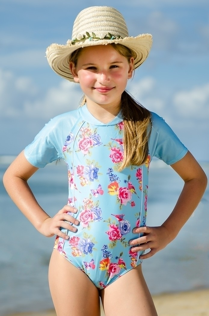 Iveta Abolina Beach Day Floral Duvet Cover Gray - Deny